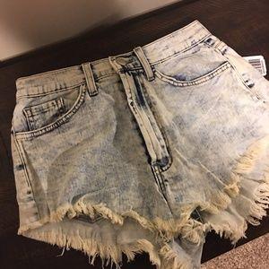 high waisted shorts-brand new never worn